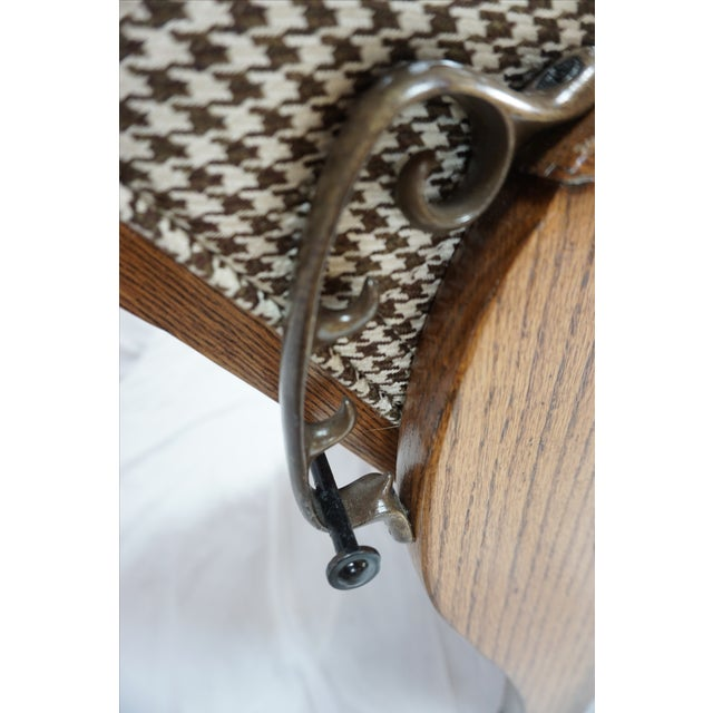 1900s Arts & Crafts Oak Morris Chair - Image 8 of 11