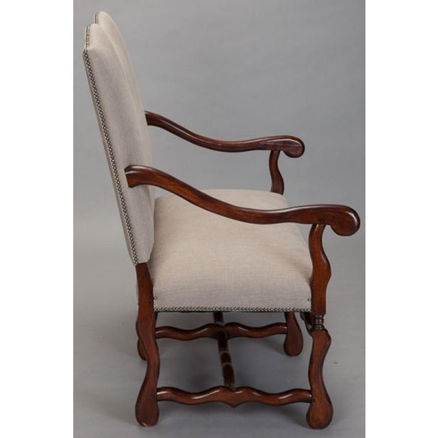 1920s Os De Mouton Settee For Sale - Image 5 of 7