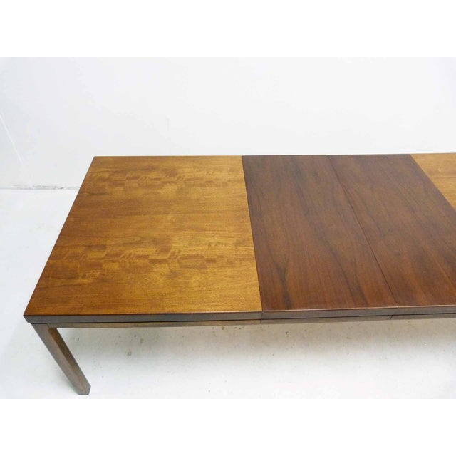 Milo Baughman-Attributed Parsons Dining Table - Image 3 of 9