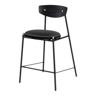 Kink Counter Stool In Storm Black For Sale