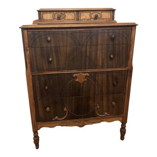 1940s Traditional Wooden Dresser For Sale