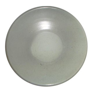 Celadon Shallow Pottery Dish For Sale