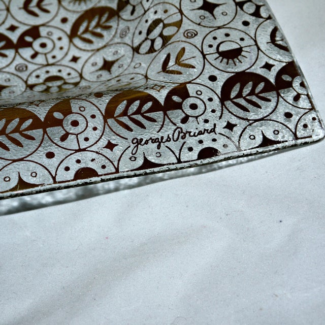 Georges Briard Mid-Century Divided Server Tray - Image 3 of 7