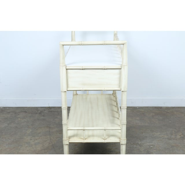 Thomasville Bamboo Style Serving Cart - Image 9 of 11