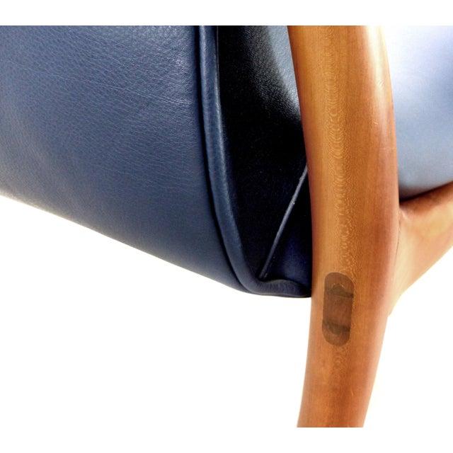 "Blue Roberto Lazzeroni Ceccotti Collection ""Star Trek"" Armchair, Italy For Sale - Image 8 of 10"