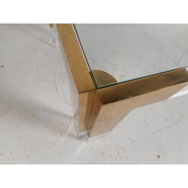 Mid-Century Charles Hollis Jones Style Coffee Table For Sale - Image 9 of 11