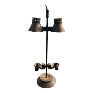 Industrial Rustic Candelabra For Sale
