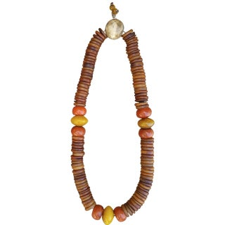 String of African Amber Beads