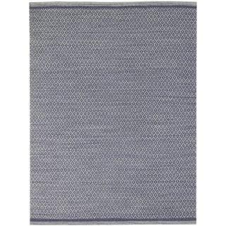 Loft Modern Violet Flat-Weave Rug 3'x5' For Sale