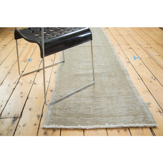 "Vintage Oushak Distressed Rug - 2'3"" X 8'4"" - Image 6 of 6"