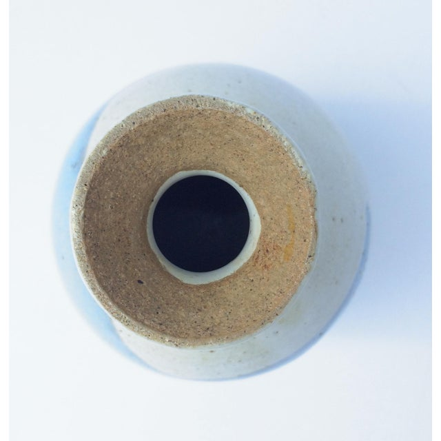 Abstract Studio Pottery Vase - Image 7 of 8