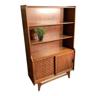 Mid Century Modern Bookcase For Sale