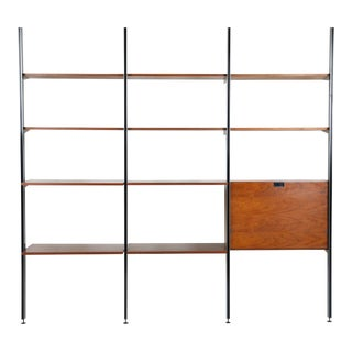 1970s Mid-Century Modern George Nelson Comprehensive Storage System For Sale