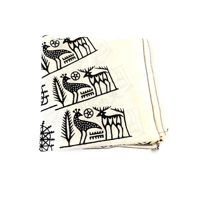 Turkish Cloth Tokat Yazma Throw or Tablecloth - Image 2 of 5
