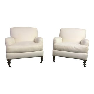 Vintage Classic Lounge Chairs- A Pair For Sale