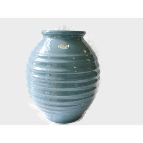 Large Mid Century Royal Haeger Turquoise Vase Chairish
