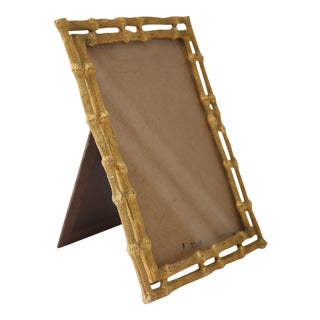 Faux Bamboo Picture Frame