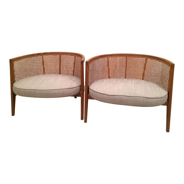 Harvey Probber Model 1066 Hoop Chairs - A Pair - Image 1 of 8