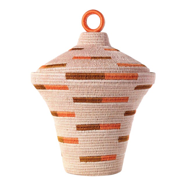 Bonded Urn Blush/ochre & Papaya For Sale