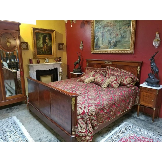 19c French Louis XVI Style Complete Bedroom Set For Sale In Dallas - Image 6 of 12