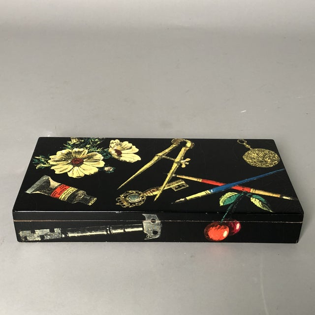 Fornasetti Decorative Wooden Box For Sale In New York - Image 6 of 10