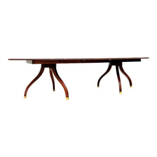 Traditional Ralph Lauren Mahogany Dining Table For Sale