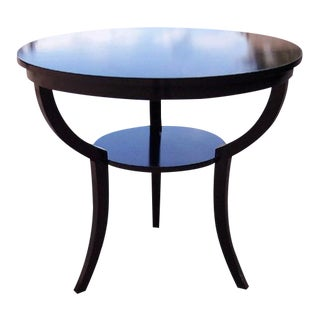 Oversized Round Side Table