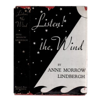 "1938 ""Listen! The Wind"" Collectible Book For Sale"