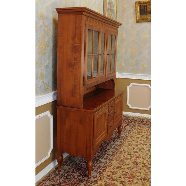 Ethan Allen Country Crossings China Cabinet For Sale - Image 9 of 11