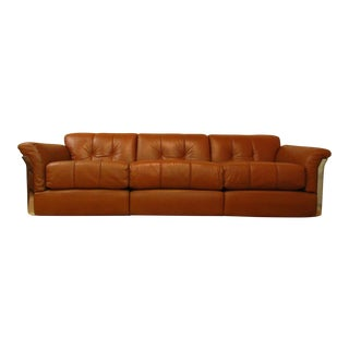 1960s Vintage Vittorio Introini for Saporiti Larissa Sofa For Sale
