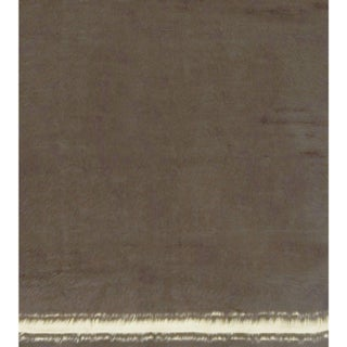 """Vintage Turkish Mohair Flat Weave Hand Woven Rug - 4'9"""" X 5'9"""" Preview"""