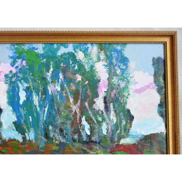 Santa Barbara California Original Juan Guzman Plein Air Landscape Painting For Sale In Los Angeles - Image 6 of 9