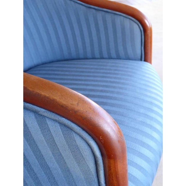 Walnut Banker Chairs by Ward Bennett for Brickel For Sale - Image 10 of 10
