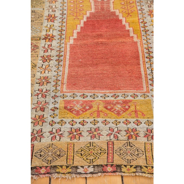 """Vintage Turkish Prayer Rug - 3'8"""" x 5'2"""" For Sale - Image 11 of 13"""