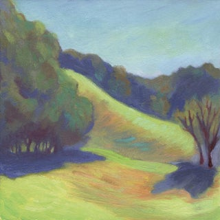 Wildcat Canyon Hillside Painting For Sale