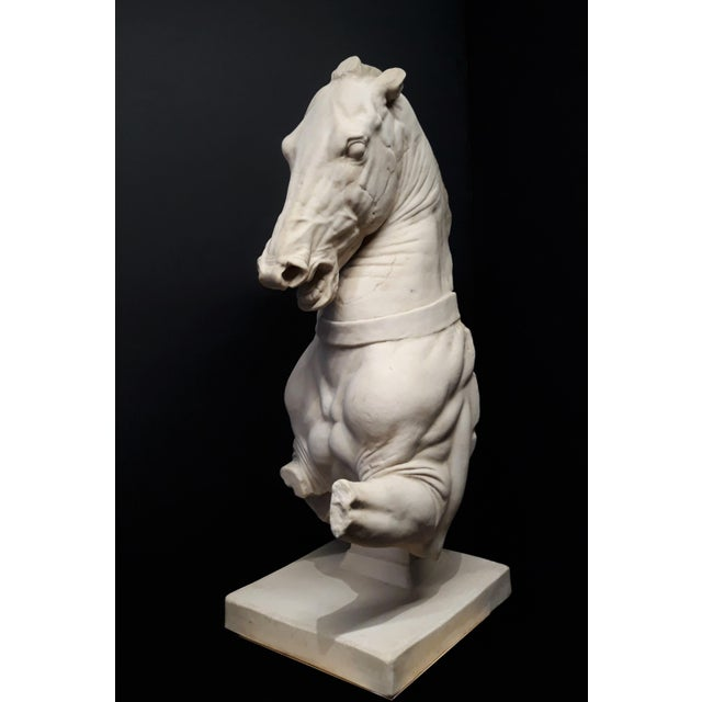 Very impressive plaster reproduction of a classical Trojan horse artifact housed in the British Museum in London. Most...