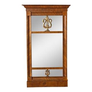 19th Century German Biedermeier Mirror