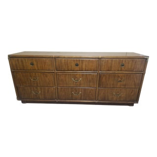 1970s Drexel Heritage 9 Draw Dresser For Sale