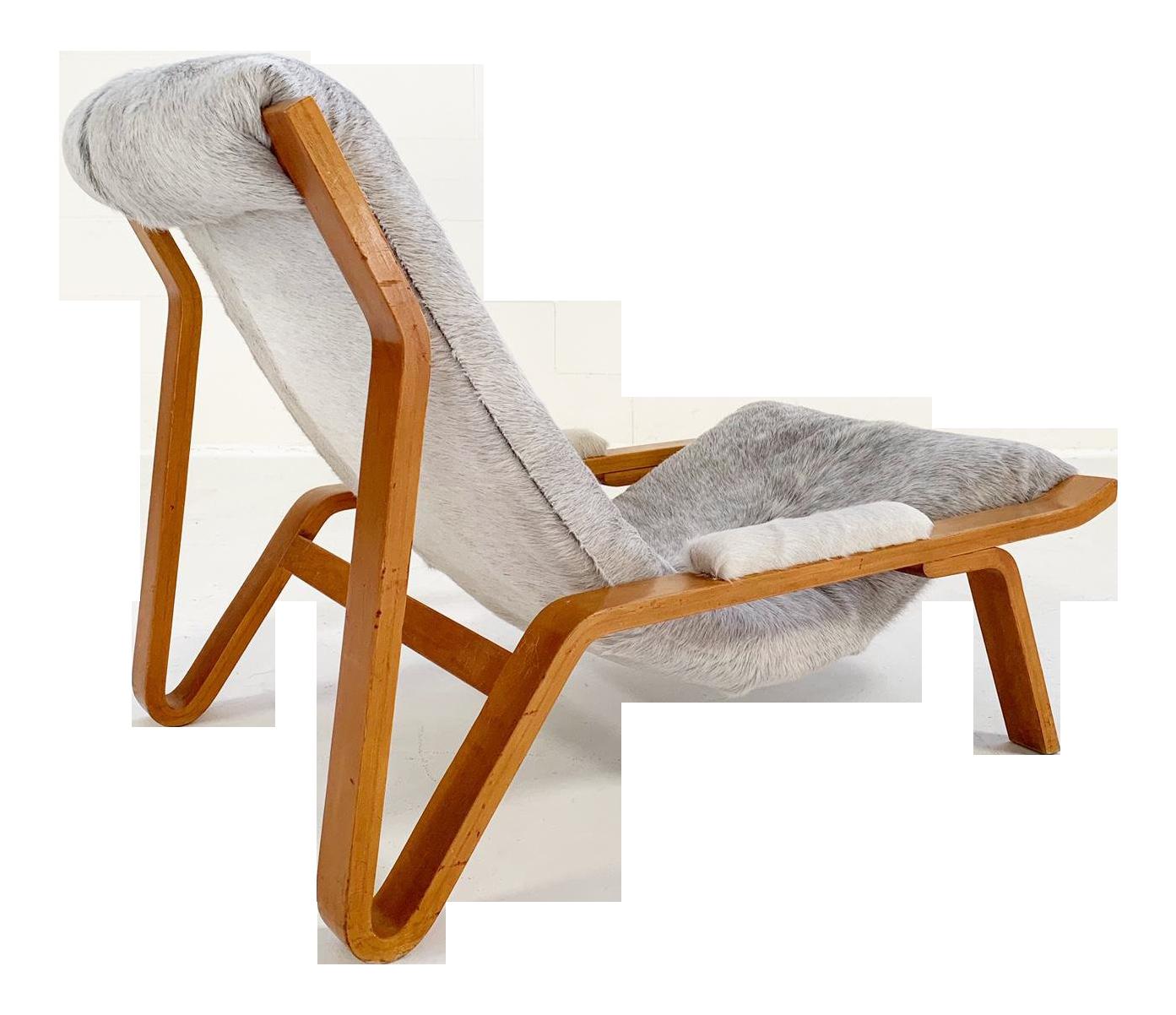 Harvey Probber Suspension Chair Restored In Brazilian Cowhide