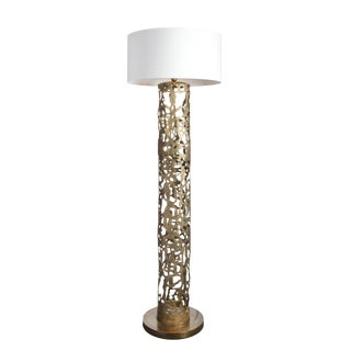Romi Gold Floor Lamp Christine Rouviere For Sale