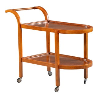 Bentwood Two-Tier Trolley or Tea Cart For Sale