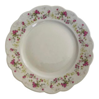 "1900's m.z. Austria Fine Porcelain Plate 9.75""d For Sale"