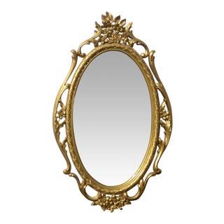 Vintage Syroco Rococo Style Mirror