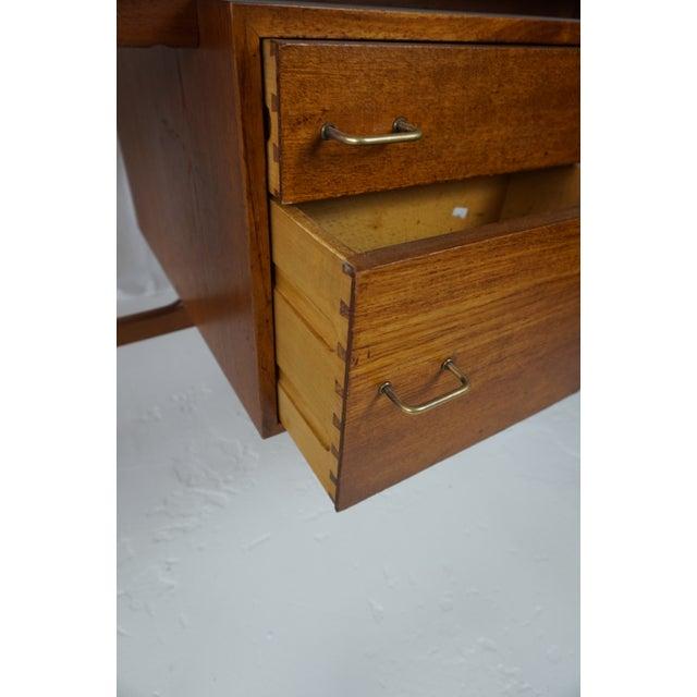 Arne Vodder Danish Modern Boomerang Teak Desk For Sale - Image 5 of 11
