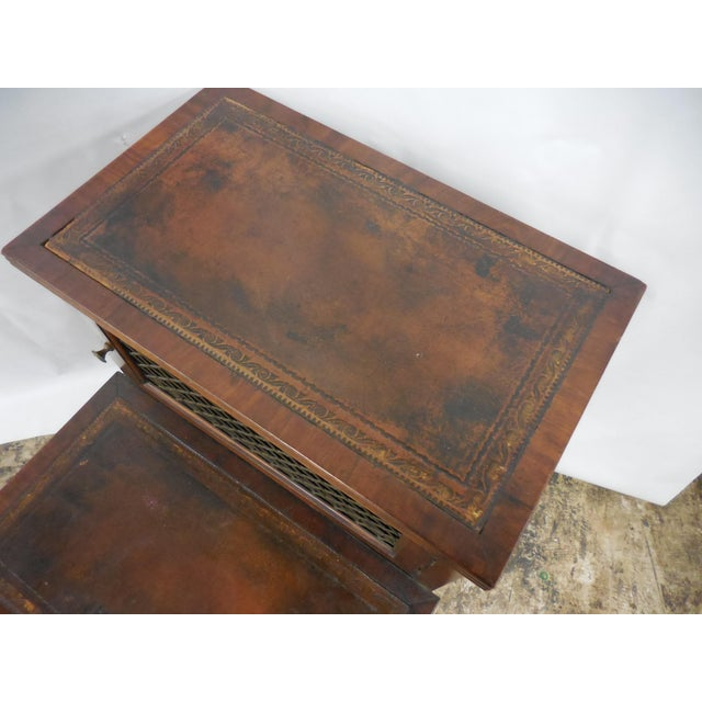 19th Century Mahogany Library Steps For Sale - Image 5 of 8