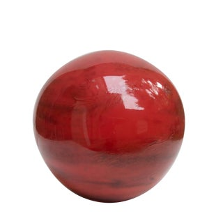 Murano Glass Globe Table Lamp For Sale