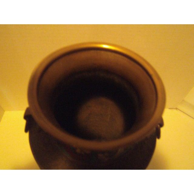 Large Antique Champleve Urn - Image 7 of 11