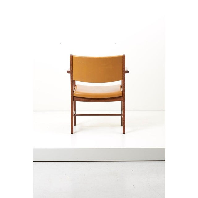 Set of Ten Ge 1960s Armchairs in Leather by Hans Wegner for by Getama, Denmark For Sale - Image 9 of 13