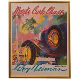 Image of Leroy Neiman Monte Carlo Chase For Sale