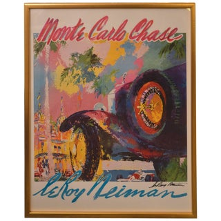 Leroy Neiman Monte Carlo Chase For Sale